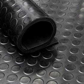 Tapis caoutchouc pastillé 3 mm - largeur 120 cm (par mètre linéaire)