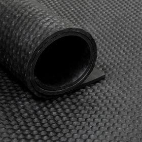 Tapis caoutchouc martelé 8 mm - largeur 180 cm (par mètre linéaire)