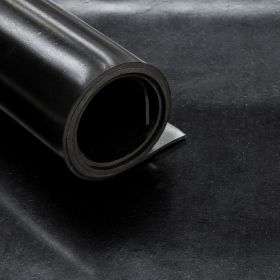 Feuille de caoutchouc SBR 1 pli - Épaisseur 2 mm - Rouleau de 14 m2 - REACH conform