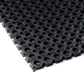 Caillebotis caoutchouc 100 x 150 cm (12 mm) - Renforcé