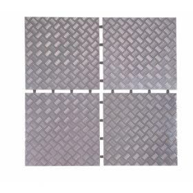 aluminium tegel