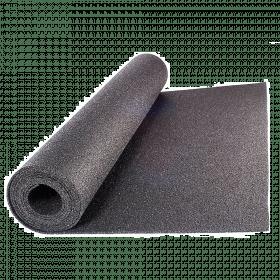 Beschermmat *standaard* - rol van 12,5 m2 - Dikte 6 mm - Zwart granulaat