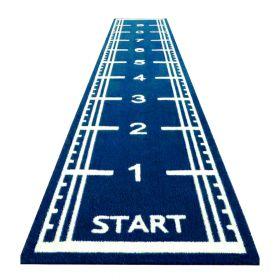 sprinttrack 10 meter blauw