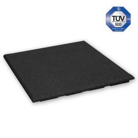 Dalle amortissante 30 mm - 50 x 50 cm - noir