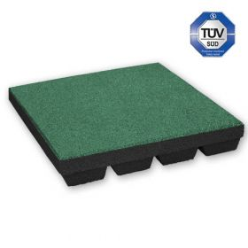 Dalle amortissante 55 mm - 50 x 50 cm - vert