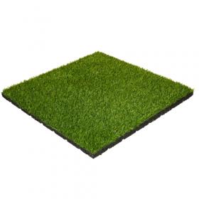 Rubber tegel met kunstgras toplaag - 50x50 cm 1
