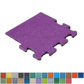 gekleurde rubber kliktegel - 25 mm