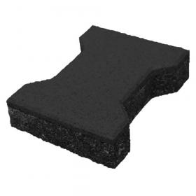 rubber klinker zwart 43mm