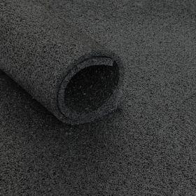 Sol pour salle de sport *Standard* - rouleau de 12,5 m2 - épaisseur de 6 mm - Noir