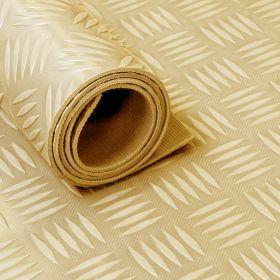 rubber op rol - traanplaat - beige - 150 cm - 3 mm